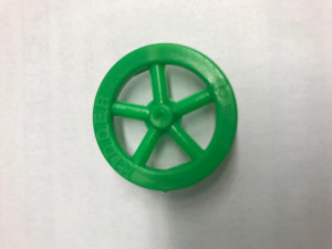 Green Front Wheels - Cat# 19-1015-GN