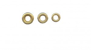 Metal Eyelets - for 4mm axles - Cat# 19-20-552