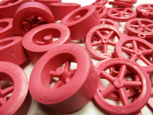 PINK Rear & Front Wheels - 10 of each - Cat# 19-54-1014