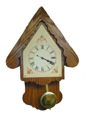 The Swiss Cottage Clock - Cat# 70-1428-HK