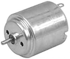 Single Shaft 6V-12V DC Motor - Cat# 80-3550-80 ea