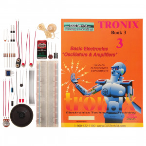 Tronix Lab 3 - Basic Electronics Oscillators and Amplifiers Lab