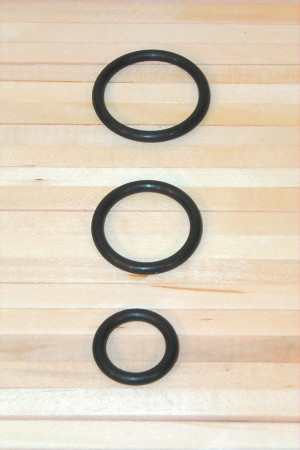 Rubber O-Rings - Cat# 83-1244-00