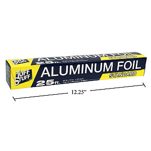 Aluminum Foil 25 ft Roll - Cat# 83-1683-00