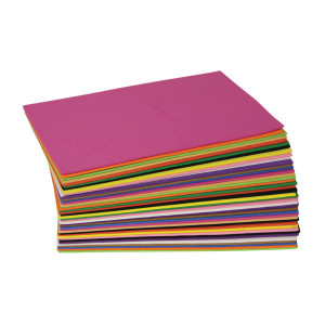 Wonderfoam 40 Sheet Assorted Colours - Cat# 83-1862-00
