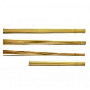 "Assorted Wooden Dowels - 72 pcs - 1/8 to 1/4"" - Cat# 83-54-2005"
