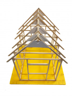 Model Cabin Construction Kit - Cat# 83-54-CNHK
