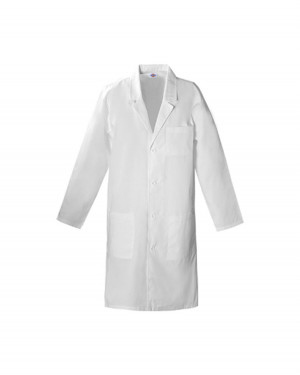 Cotton Lab Coat White - LARGE - Cat# 83-1905-00