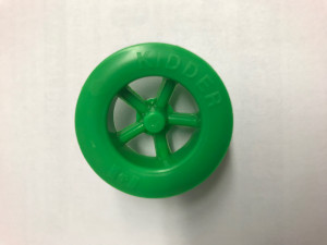 Green Rear Wheels - Cat# 19-1016-GN