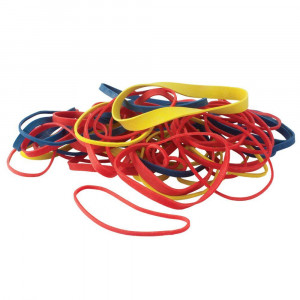 Rubber Bands - Assorted - 1/4 lbs - Cat# 19-2021-00