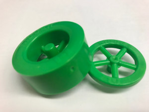 Green Wheels - Front & Rear - 10 of each - Cat# 19-54-1017