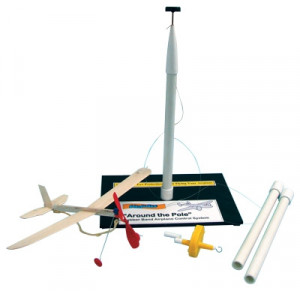 Rubber Band Plane Powered Pole - Cat# 19-FF-545