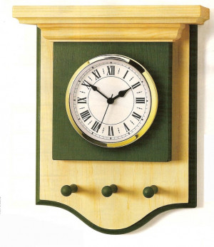 """It's About Time"" Clock Plans - Cat# 70-1487-PL"