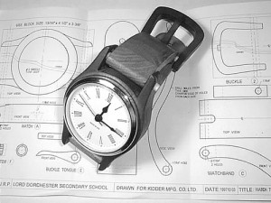 Wrist Watch Clock Plans - Free with clock inserts