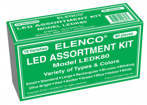 LED Assorted Pack - 80-3514PAK