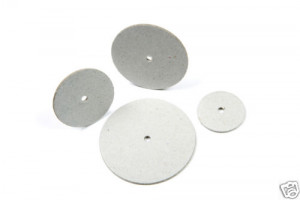 Thick Card Wheels - 38mm - 100/pkg - Cat# 83-1216-00