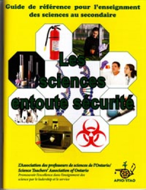 Safe On Science - FRENCH - Les sciences en toute securite - Cat# 80-5710-FR