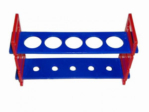 Plastic Test Tube Rack - Cat# 83-8082-00